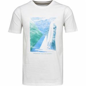 T-shirt Sailor Print Bright White
