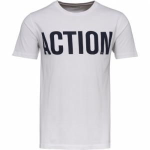 T-shirt Action Print Bright White