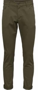 5 Pocket Stretched Jeans Bruned Olive