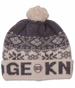 Rib Knit Hat Winter White