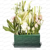 Brique de mousse florale