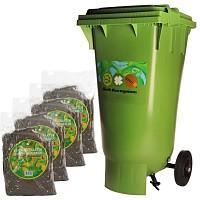 Conteneur 120L compost Bokashi - micro organismes