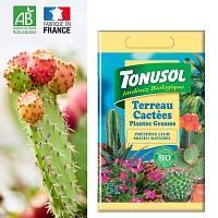 Terreau spécial cactus et plantes grasses Bio - 5L