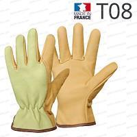 Gants en cuir Rostaing - T08 fabriqué en France