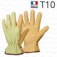 Gants en cuir Rostaing - T10 fabriqué en France