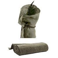 Protection antigel en laine de mouton 200 x 100cm