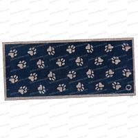 Paillasson Pattes de chien 100% recyclé 65x150cm