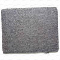 Paillasson tapis Gris 100% recyclé 75x50cm