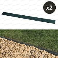 Lot de 2 bordures Bassin BorderFix latte long. 2m x haut. 14cm