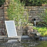 Pompe fontaine jets d'eau solaire pour bassin