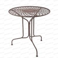 Table ronde extérieure Sophia en acier Diam. 70cm