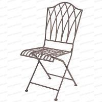 Chaise pliable extérieure Sophia en acier