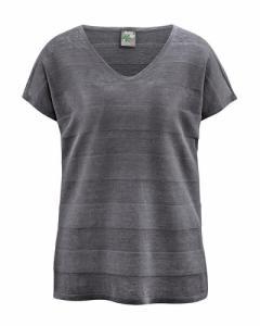 T-shirt col V en maille