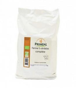 Farine 5 céréales complète bio