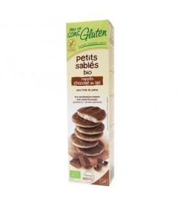 Petits sablés chocolat au lait bio - sans gluten
