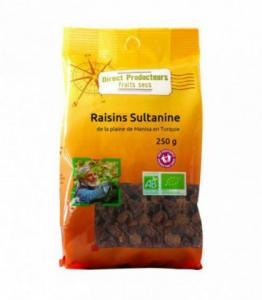 Raisins secs Sultanine bio - équitable