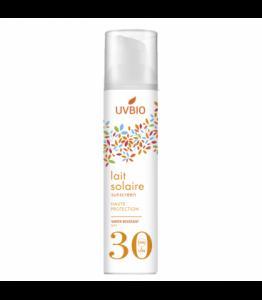 Crème solaire bio indice 30