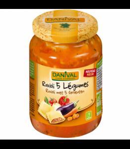 Raviolis 5 légumes bio