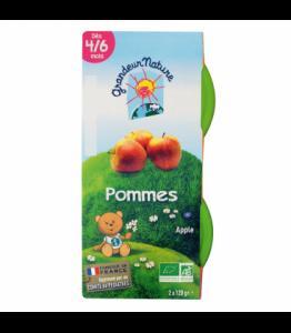 Purée de fruits pomme pour bébé bio