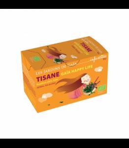 Tisane Gaia happy life bio