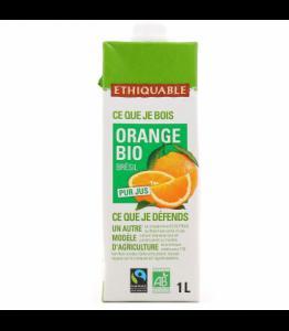 Pur jus d'orange bio - équitable