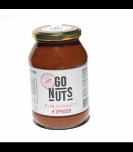 Beurre de cacahuètes bio aux quatre épices