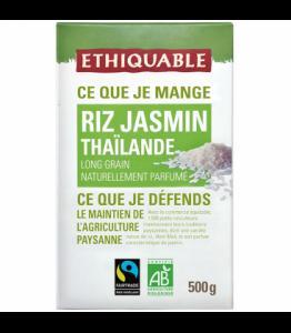 Riz parfumé au jasmin de Thaïlande bio - équitable