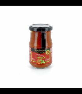 Sauce tomate au basilic bio