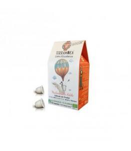 Capsules biodégradables de café bio ADELE x15