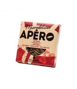 DESTOCKAGE - Apéro Tapas aux ténébrions et aux grillons bio - naturellement sans gluten
