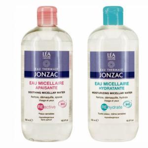 2 eaux micellaires panachées JONZAC