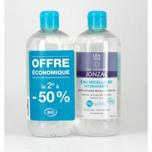 2 eaux micellaires REhydrate JONZAC