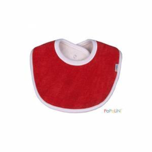 POPOLINI Bavoir rouge 0-3 mois