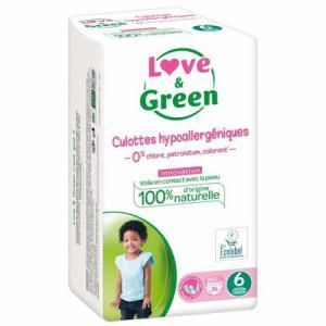 Love - Green 16 culottes T6 +16 kg