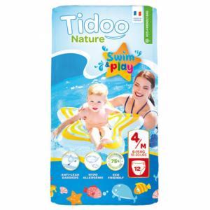 TIDOO 12 Culottes de bain T4 (8-15kg)