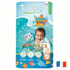 TIDOO 12 Couches de bain T3 (4-9kg)