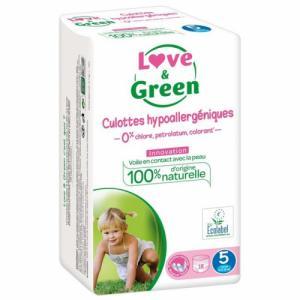Love - Green 18 culottes T5 12-25 kg