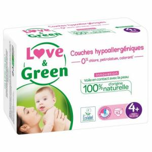Love - Green 42 couches T4+ 9-20 kg