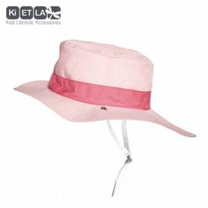 KIETLA Chapeau Panama Pink 12-18 mois