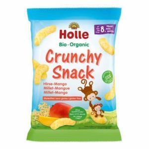 HOLLE Crunchy Snack Millet-mangue 8m