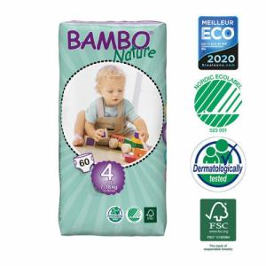 Bambo Nature 60 Couches T4 Maxi (7-18kg)