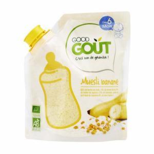 Good Gout Céréales muesli banane dès 6m