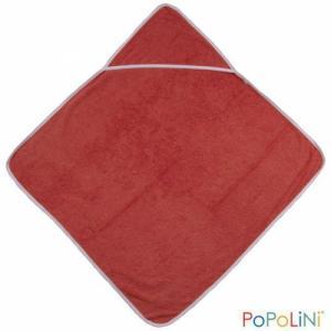 Popolini Sortie de bain rouge