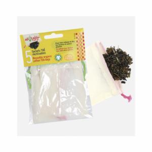 5 sachets thé coton bio