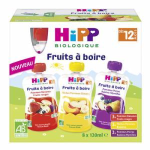 HiPP pack Fruits à boire 12m