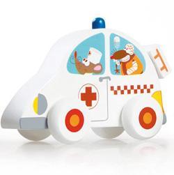 Petite voiture Ambulance
