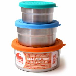 Lunch Box Seal cup trio -
