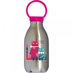 Gourde en inox collection loopy Chats