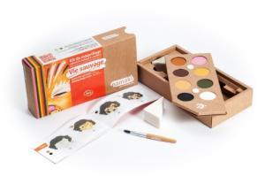 Kit de Maquillage 8 couleurs Vie sauvage