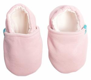 Chaussons souples bébé Blush Pink